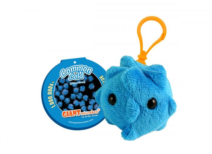 Giant Microbes - Common Cold (Rhinovirus) keyring