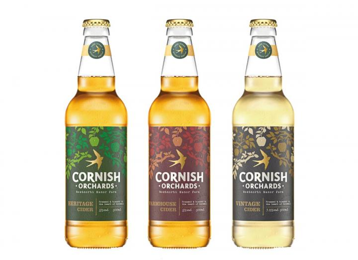 Connoisseur cider gift set from Cornish Orchards
