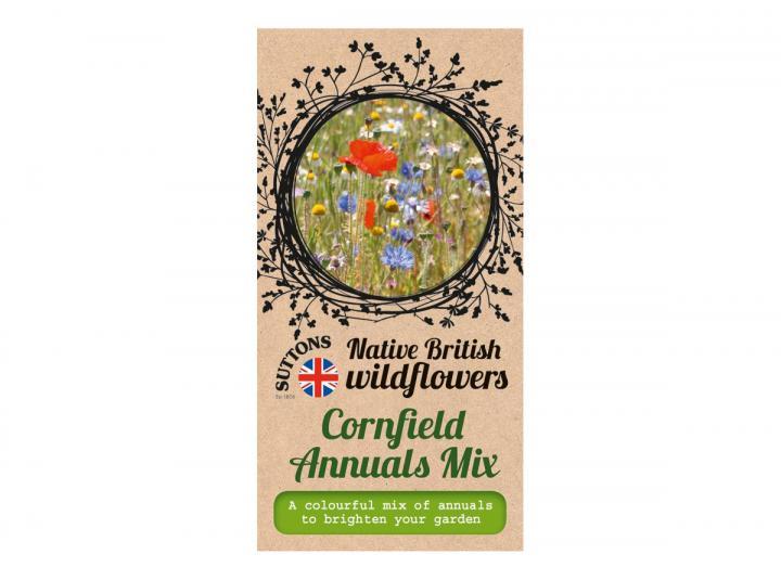 Native British wildflower seeds cornfield annuals mix
