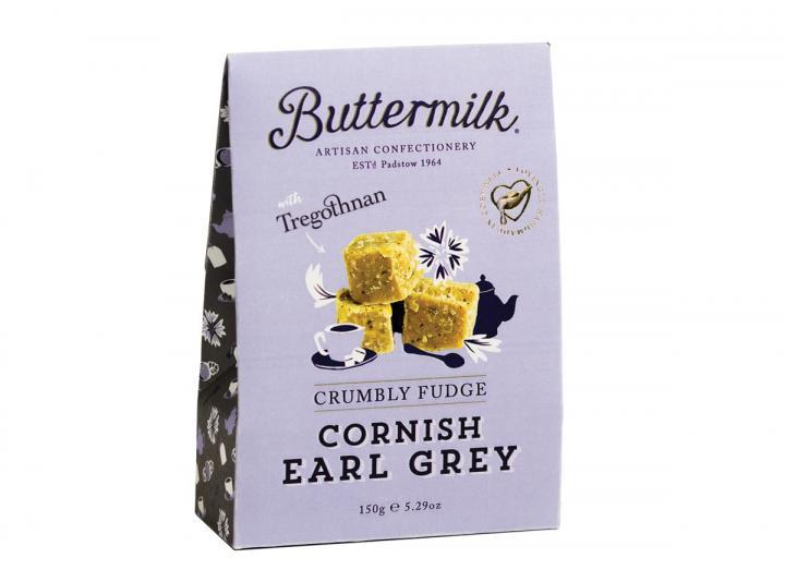 Buttermilk Cornish earl grey tea fudge