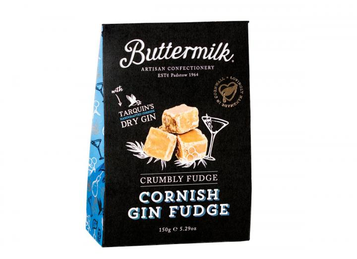 Buttermilk Cornish gin fudge