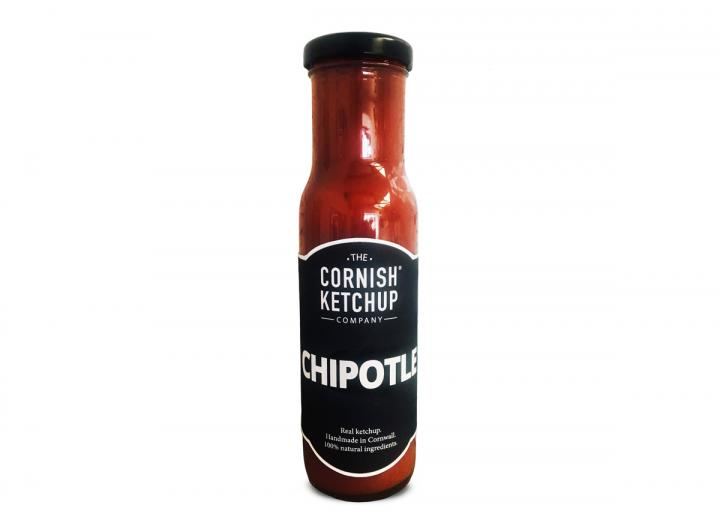 Chipotle ketchup handmade in Cornwall by The Cornish Ketchup Co.