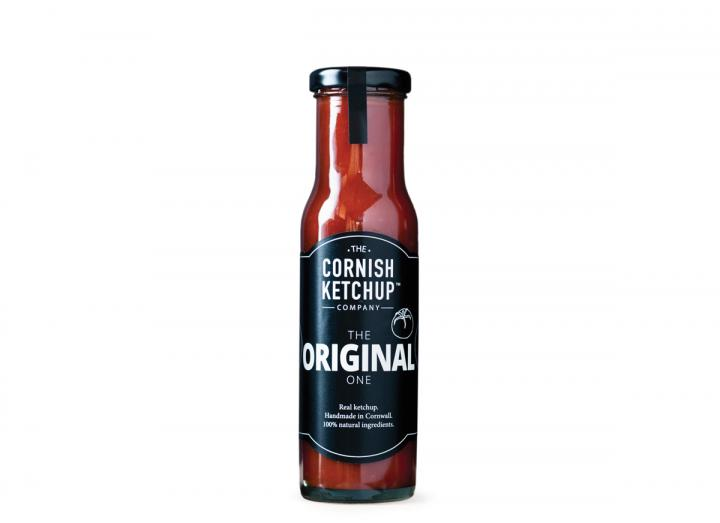 Original tomato ketchup from The Cornish Ketchup Company