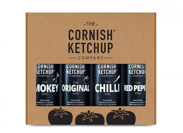 Ketchup gift set from The Cornish Ketchup Co.