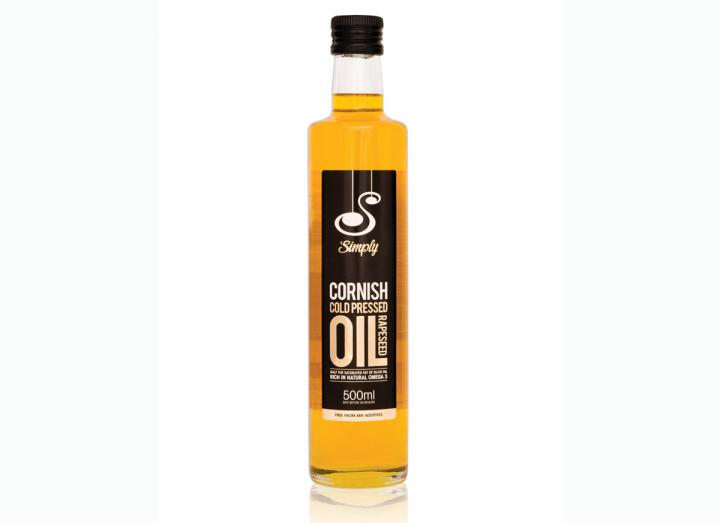 Simply Cornish cold pressed rapeseed oil