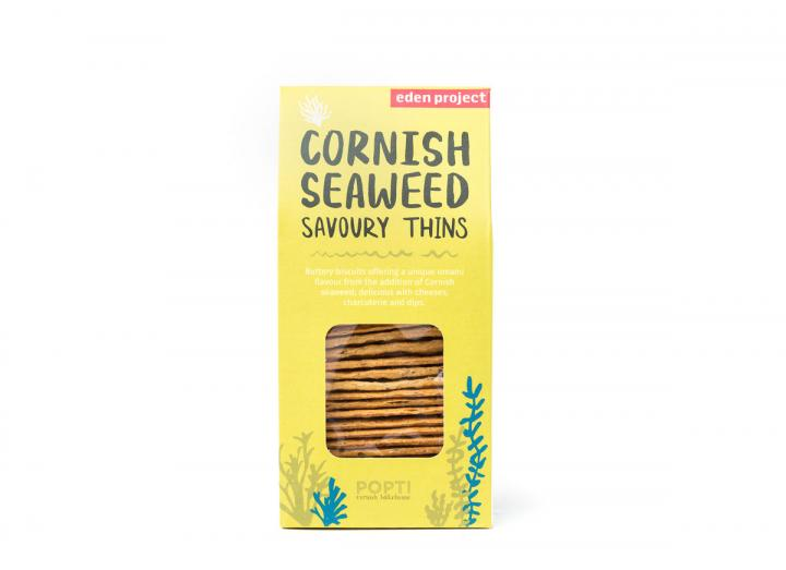 Cornish seaweed savoury thins