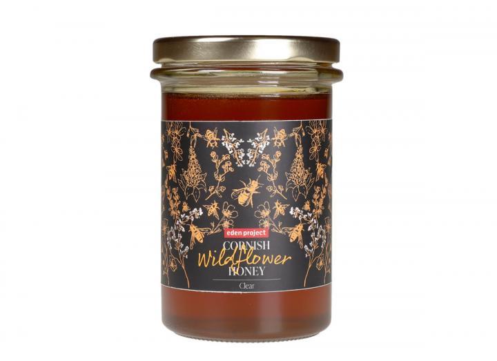 Eden Project Cornish wildflower honey clear 360g