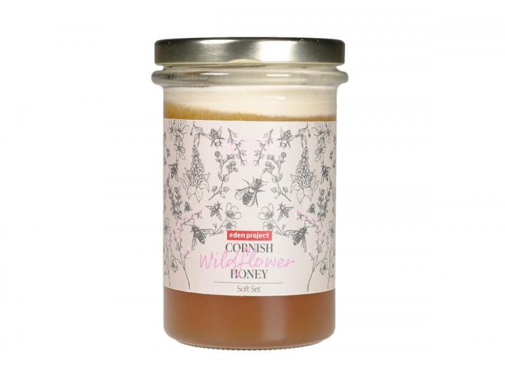 Eden Project Cornish wildflower honey soft set 360g