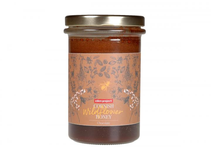 Eden Project Cornish wildflower honey with chocolate 360g