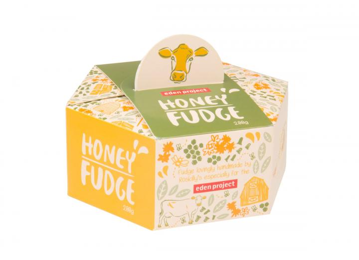 Cornish honey fudge, exclusive Eden Project flavour