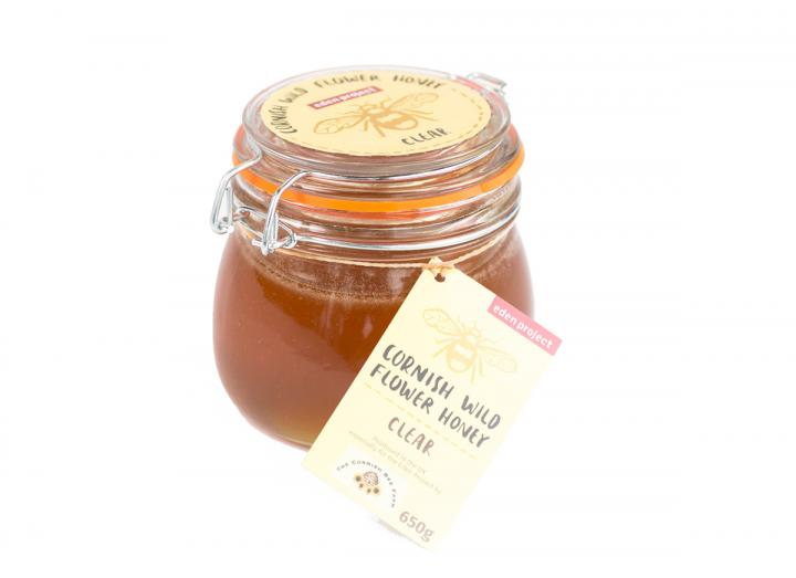 Cornish wildflower clear honey 650g