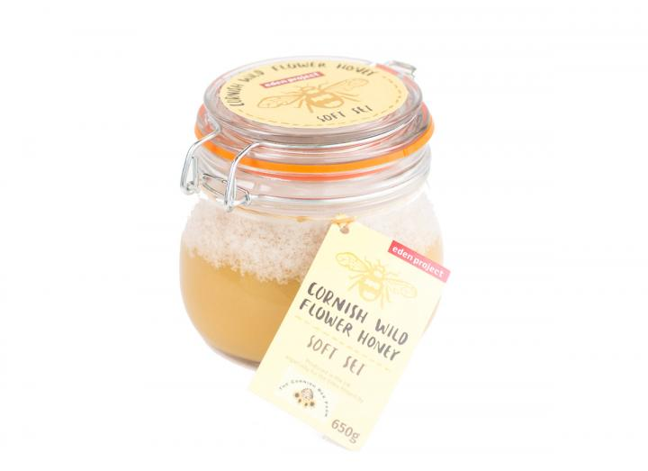 Cornish wildflower soft set honey 650g