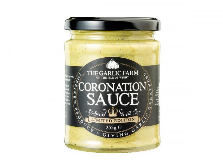 Coronation sauce from The Garlic Farm