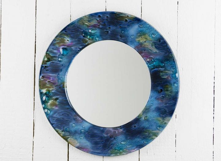 Jo Downs cosmic 38cm round mirror