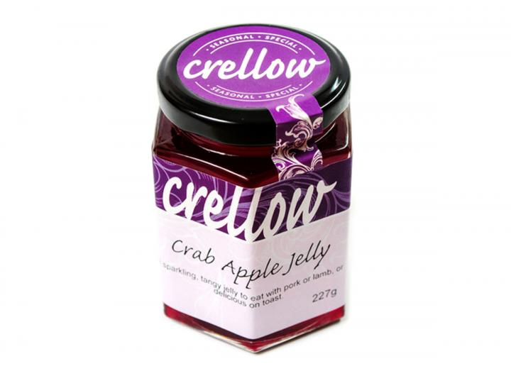 Crellow crab apple jelly, handmade in Cornwall