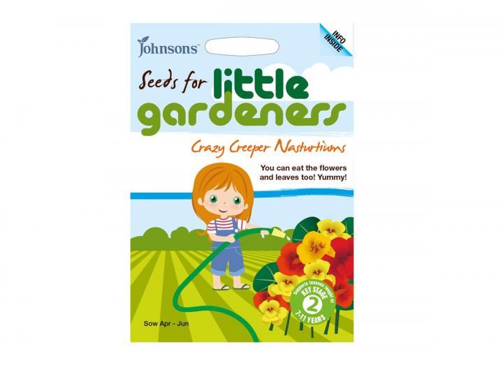 Seeds for little gardeners - crazy creeper nasturtiums