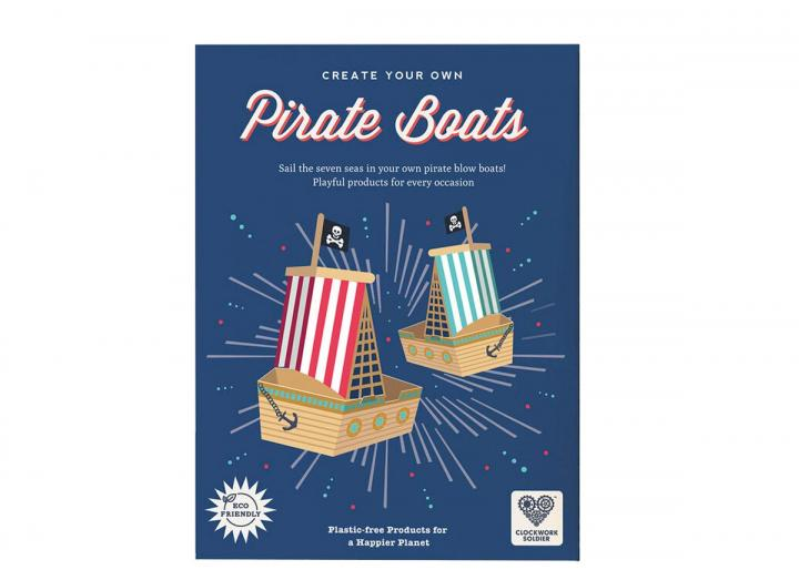 Create your own pirate blow boats