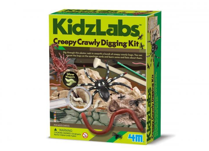 Creepy crawley digging kit