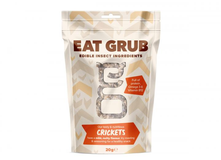 Edible crickets from Eat Grub