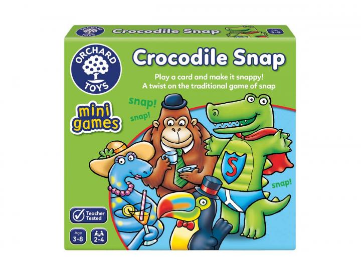 Crocodile Snap mini game from Orchard Toys