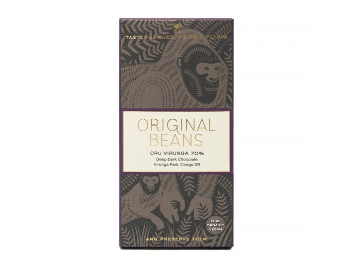 Original Beans Cru Virunga 70% 70g
