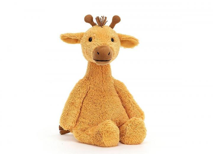 Cushy giraffe cuddly toy from Jellycat