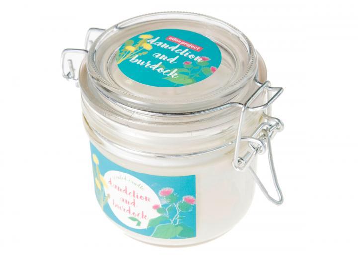 Dandelion & burdock scented candle