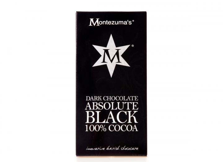 Montezuma's absolute black dark chocolate bar