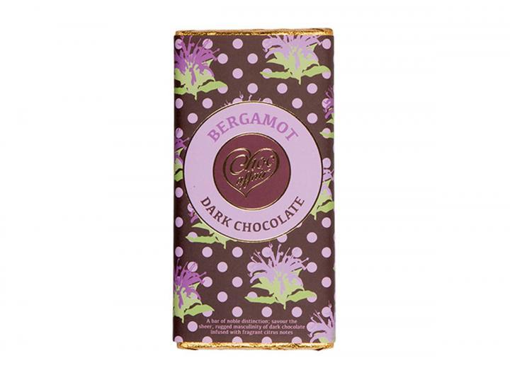 Dark chocolate with bergamot from Choc Affair