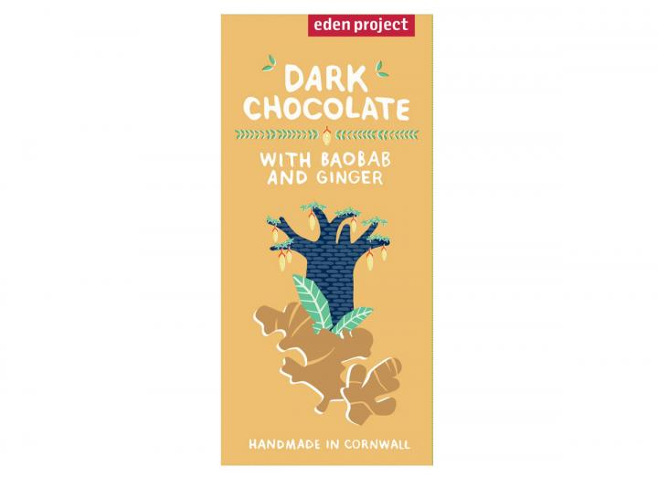 Dark chocolate with baobab & ginger
