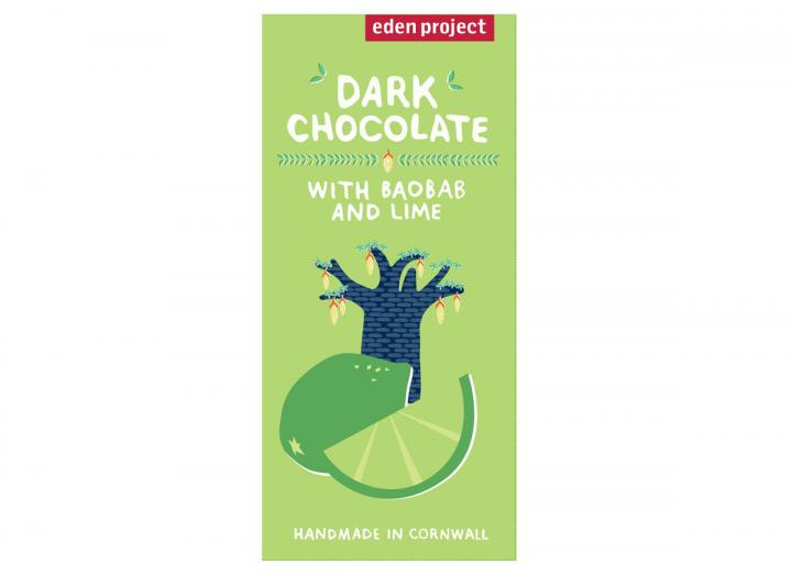 Dark chocolate with baobab & lime