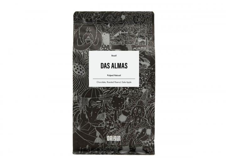 Das Almas ground coffee from Origin in Cornwall