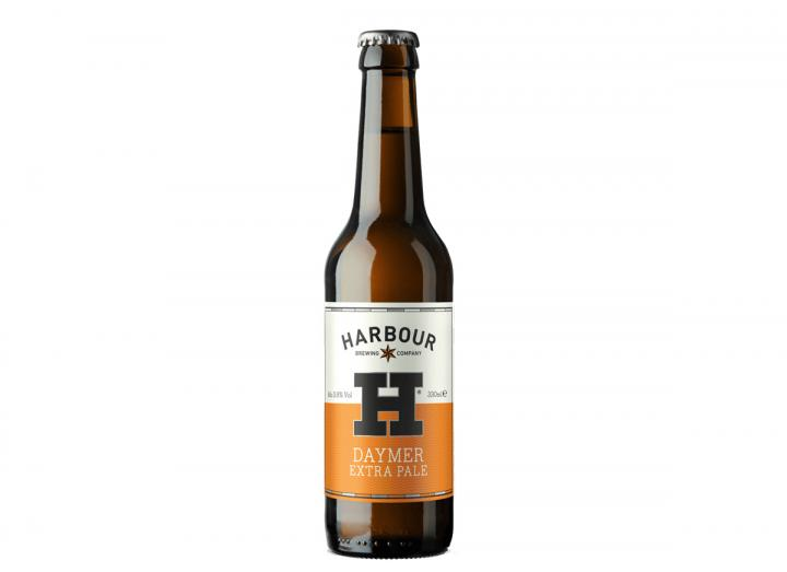 Daymer extra pale ale, brewed by the Harbour Brewing Co. in Bodmin, Cornwall