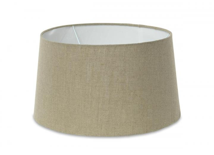 Dia jute lampshade in natural from Nkuku