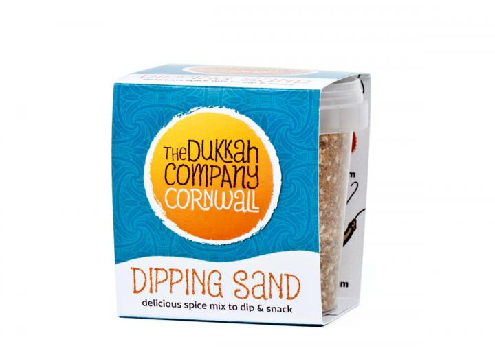 Dipping sand dukkah from The Dukkah Company Cornwall