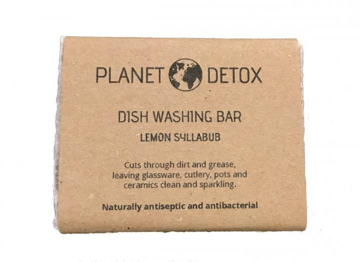 Dish washing soap, handmade in Totnes by Planet Detox