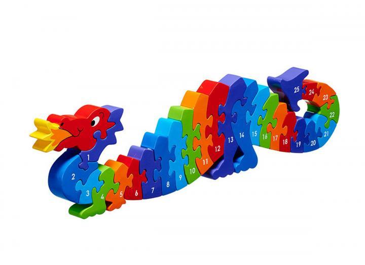 Lanka Kade Dragon 1-25 Jigsaw Puzzle