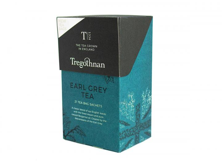 Tregothnan Earl Grey tea 21 tea bag sachets