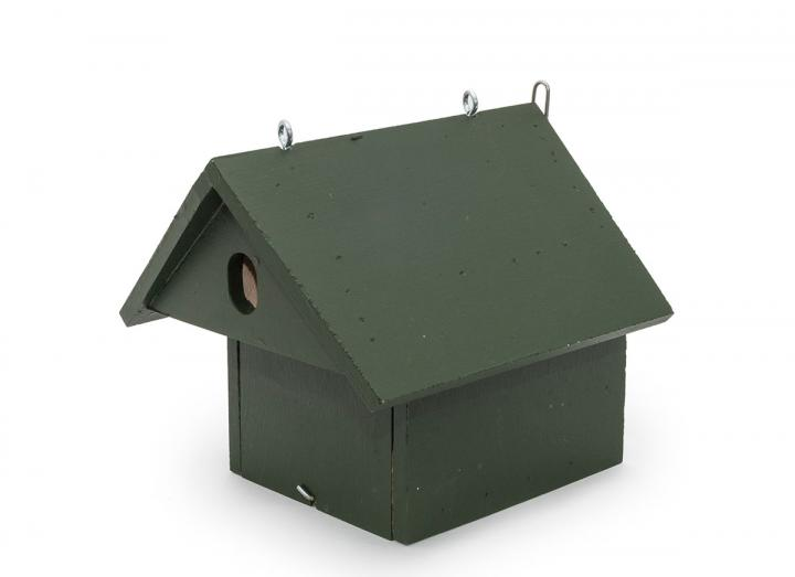 Eco-plate hanging nest box