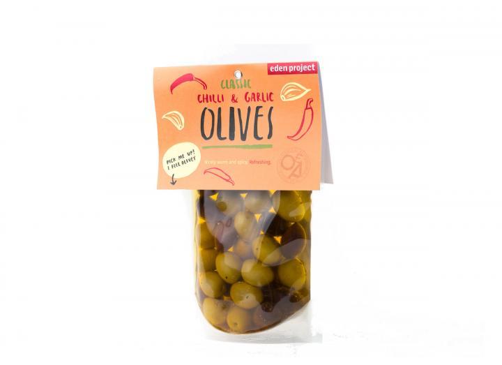 Chilli & Garlic Olives