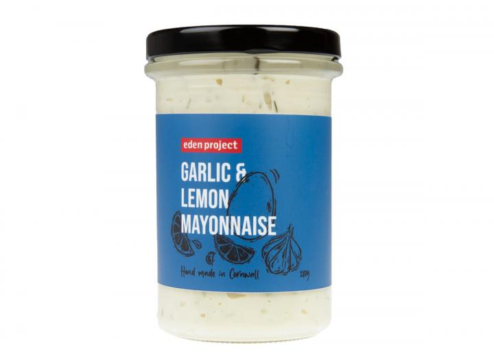 Eden Project garlic & lemon mayonnaise 280g