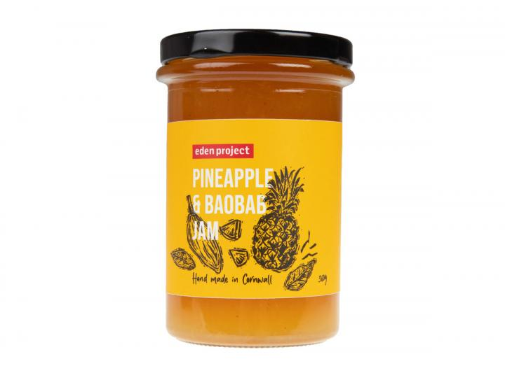 Eden Project pineapple & baobab jam 360g