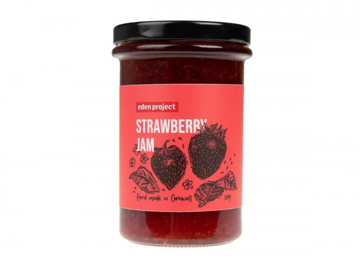 Eden Project strawberry jam 360g