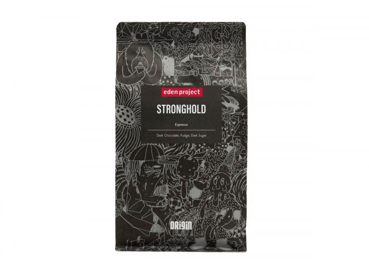 Eden Project stronghold espresso coffee from Origin Coffee