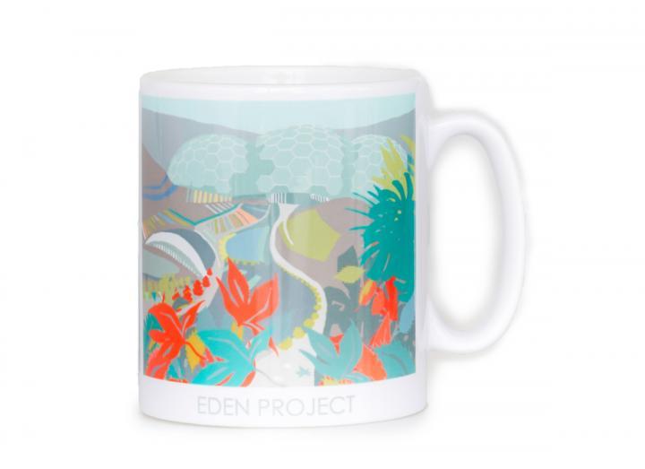 Autumn themed Eden Project mug