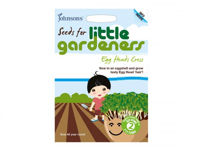 Seeds for little gardeners - egg heads cress