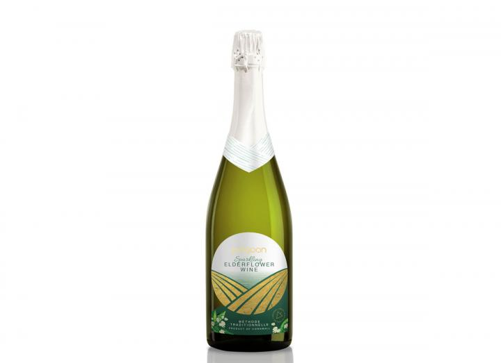 Polgoon sparkling elderflower wine