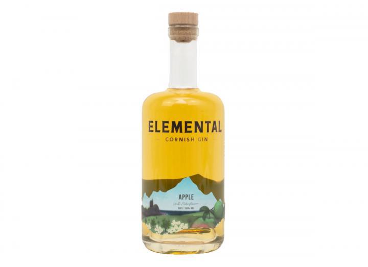 Elemental Cornish apple gin 50cl