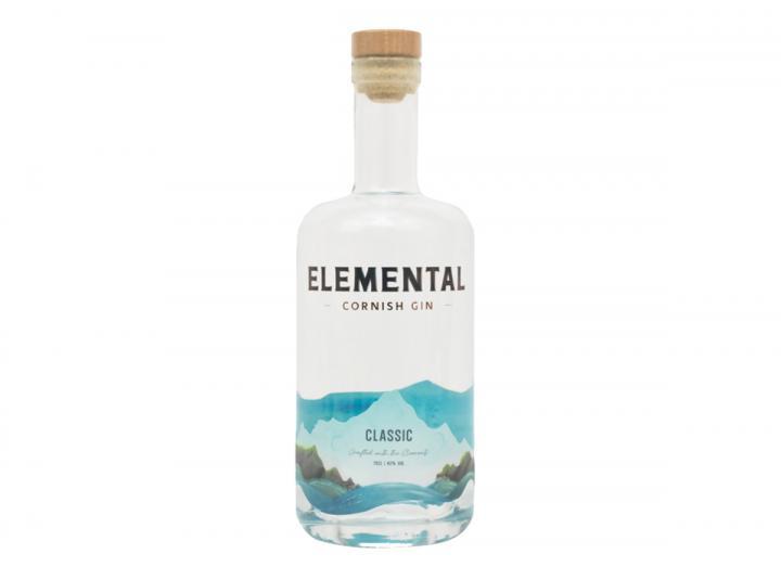 Elemental Cornish classic gin 70cl