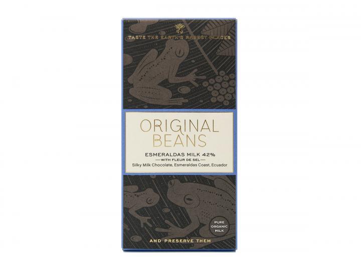 Original Beans esmeraldas milk 42% 70g